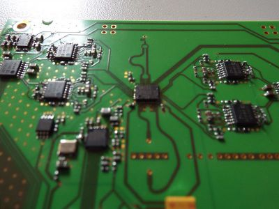 Example of an RF circuit boards